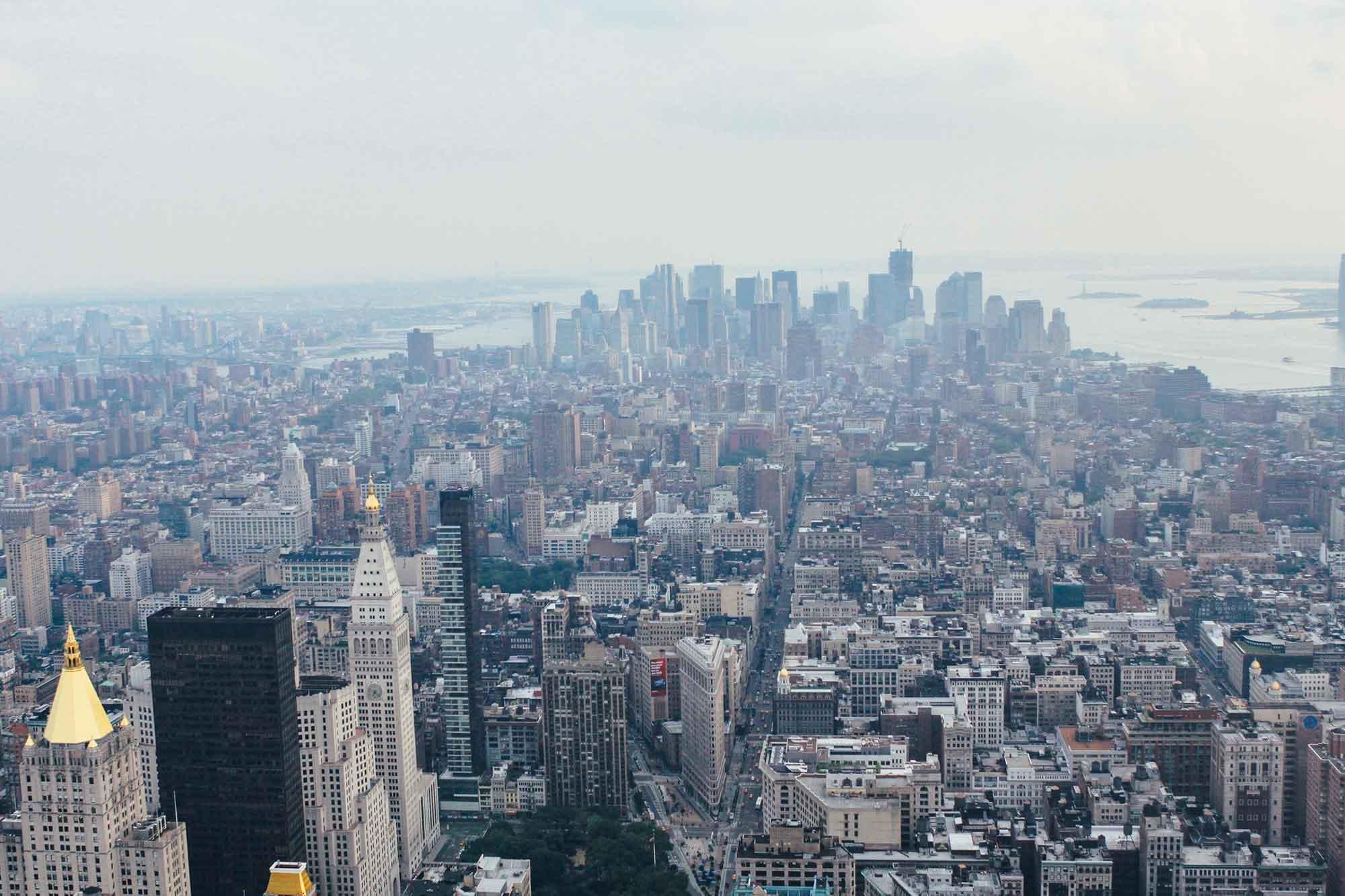 Sopra l'Empire State Building