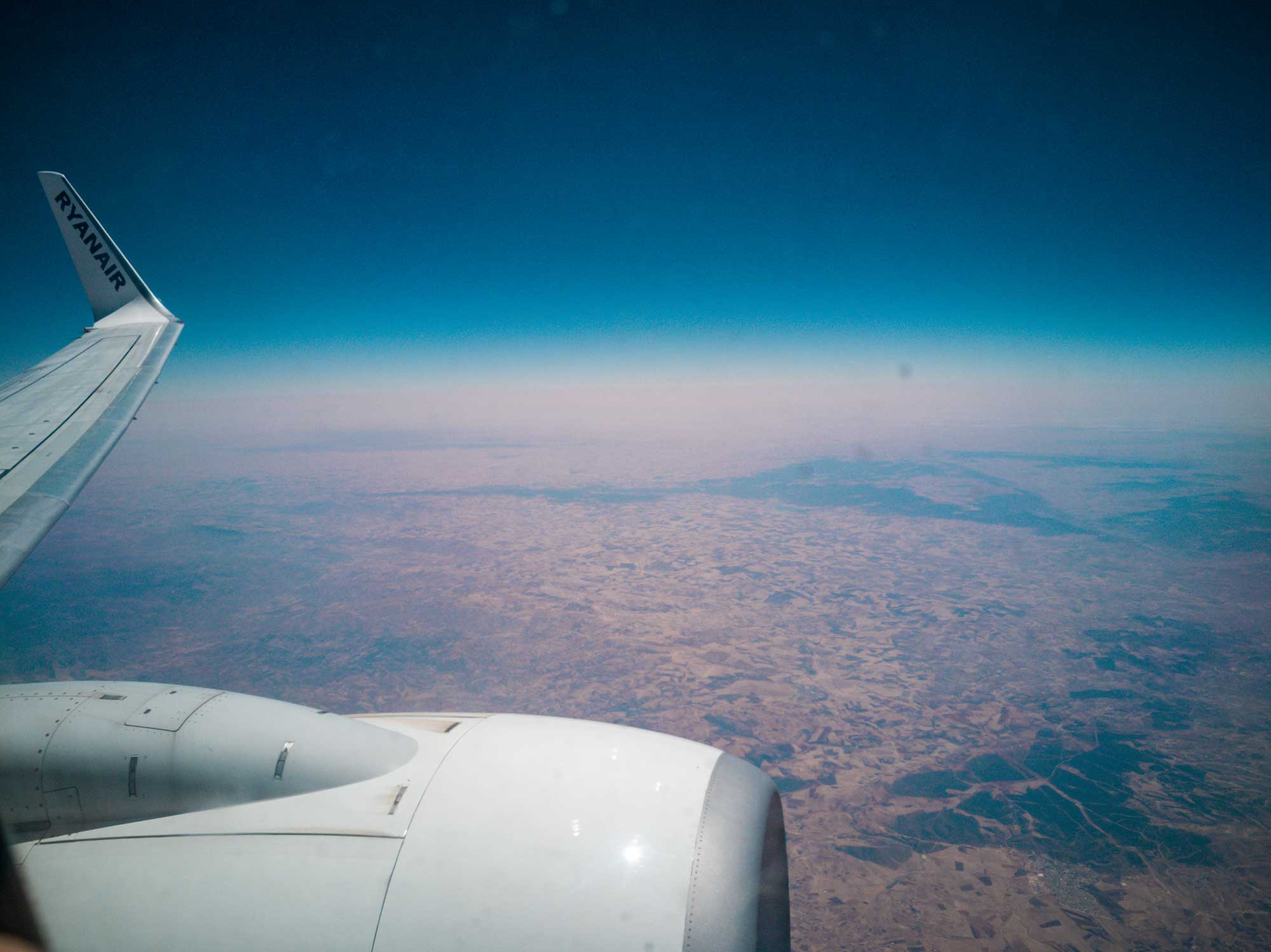 Africa vista finestrino